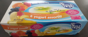 Maxi pack Yogurt intero NATURALE Latte di Nepi 8 x 125 gr