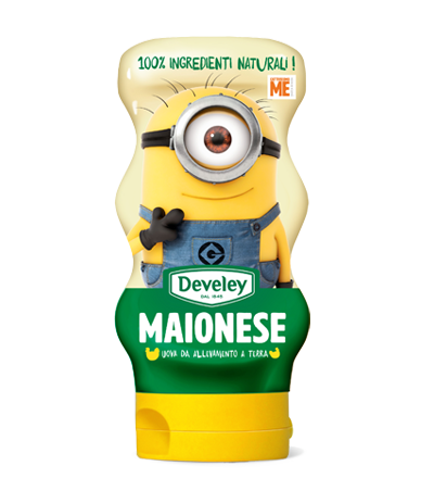 MAIONESE 100% NATURALE SQUEEZE 250 GR Develey