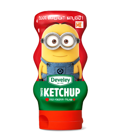 KETCHUP 100% NATURALE SQUEEZE 250 GR Develey