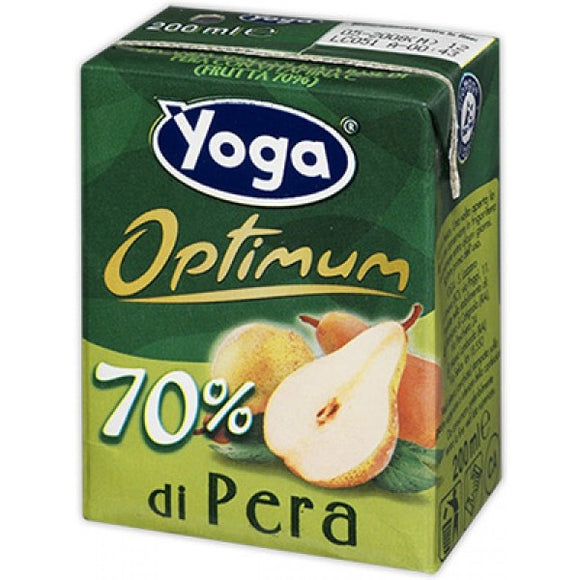 Succo Yoga Pera Brick 3 x 200ml