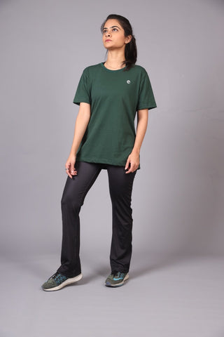 Short Slevees Tee- Green