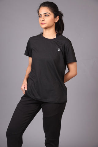 Short Sleeves-Black Tee