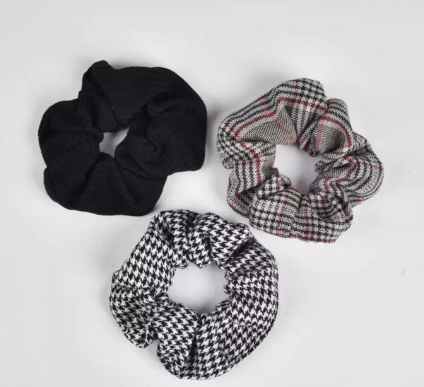Cloth Hair Scrunchies (Pack of 3)