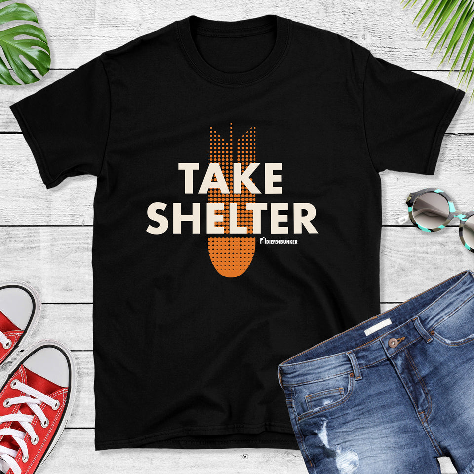Take Shelter Tshirt, black