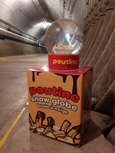 Load image into Gallery viewer, Poutine Snow Globe