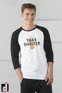 'Take Shelter' Baseball Shirt