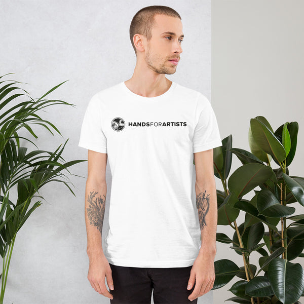 HandsForArtists supporter - Unisex-T-Shirt Kurzärmeliges