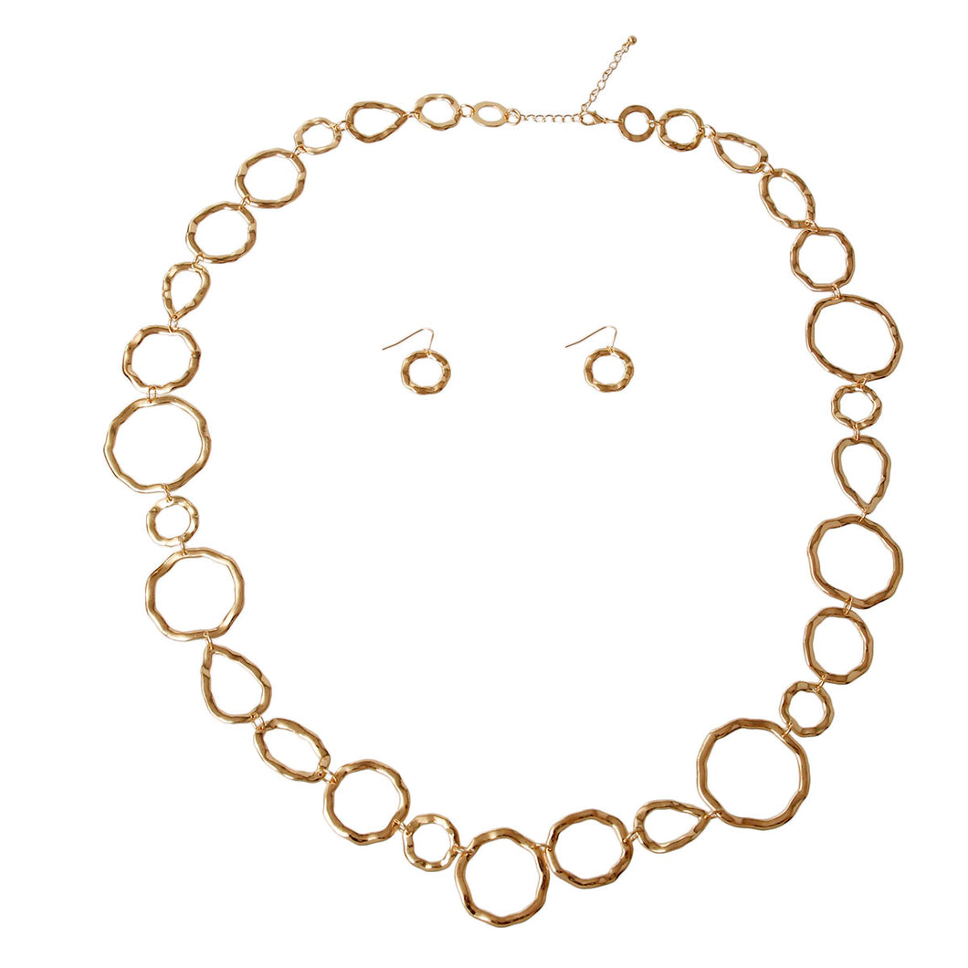 Organic Link Necklace Set
