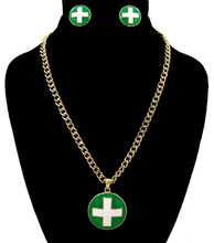 Load image into Gallery viewer, Green Necklace Sets