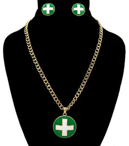 Green Necklace Sets