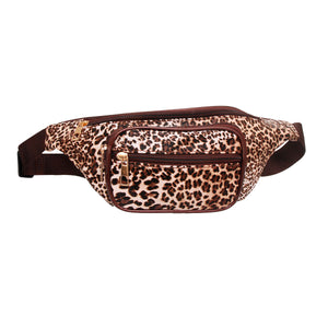Leopard Brown Fanny Pack