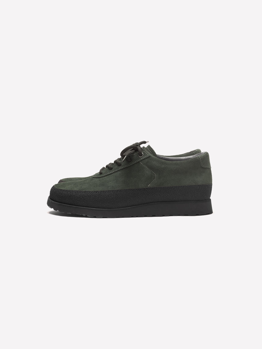 Explorer - Dark Green Suede
