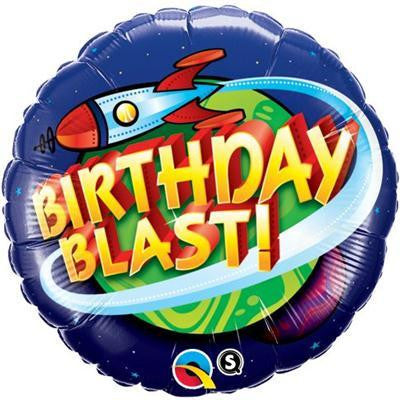 "Foil Balloon 18"" - Birthday Blast In Space"