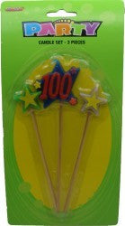 Candle Picks - 100th Three Piece