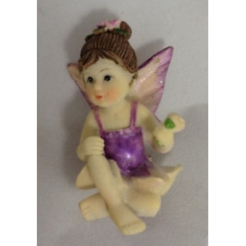 Cake Figurine - Sitting Fairy