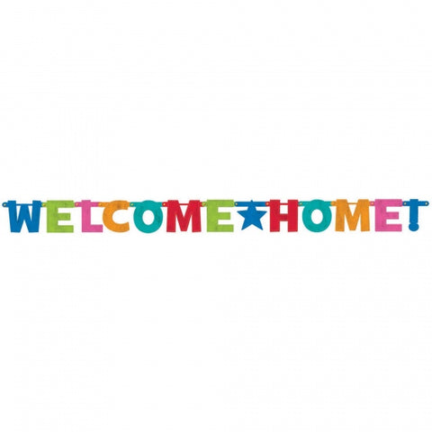 Banner - Welcome Home Holo 1.9m