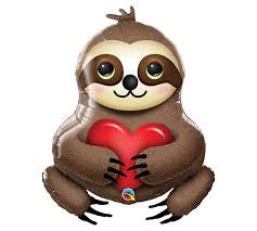 Foil Balloon Supershape - Adorable Sloth