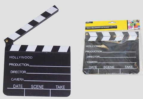 Hollywood Movie Clap Board