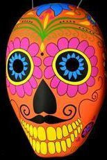 Mask - Day of the Dead Plastic (Orange)