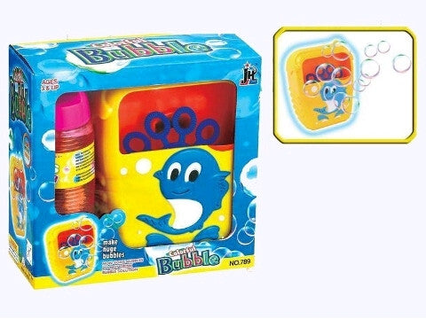 Bubble Machine w/Bubble Mix 265ml