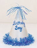 Party Hats - Birthday Boy Glitter Single