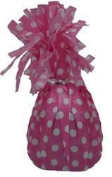 Balloon Weight - Pink Polka Dot