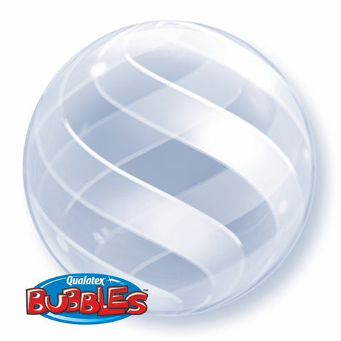 "Bubble Balloon 20"" - Swirls All Around"