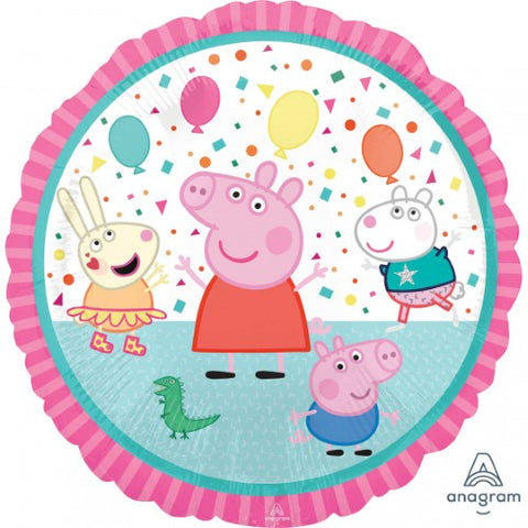 "Foil Balloon 17"" - Peppa Pig and Friends"