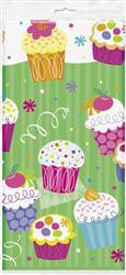 Printed Tablecover - Cupcakes