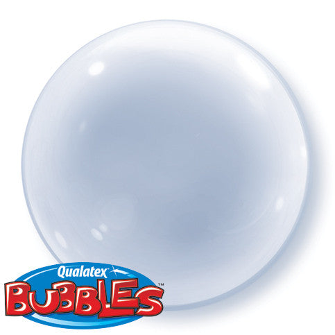 "Bubble Balloon 20"" - Deco Clear"