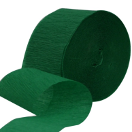 Crepe - Streamers National Green 30m
