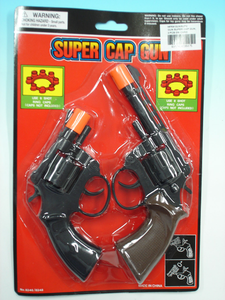 Super Cap Guns - 8 Shot Pk 2
