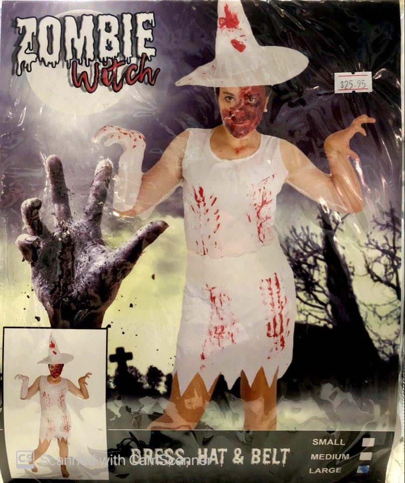 Costume - Adult Zombie Witch