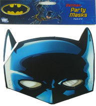 Party Hat Masks - Batman Pk 8