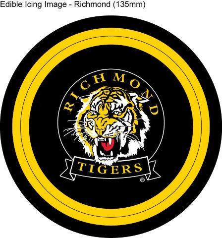 Edible Icing Image - AFL Richmond Tigers ( SOLD OUT )