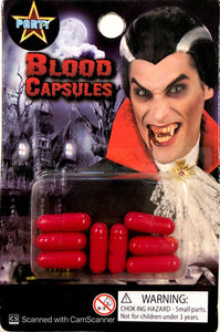 Fake Blood Capsules 8pk