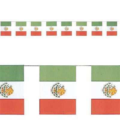 Bunting Flags - Mexican Flag
