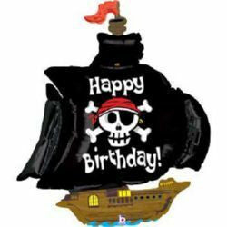 Foil Balloon Supershape - Pirate Ship Birthday