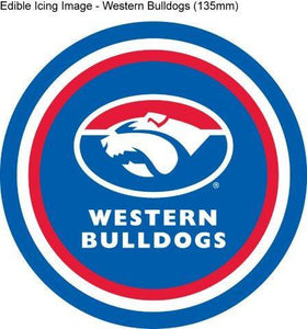 Edible Icing Image - AFL Western Bulldogs