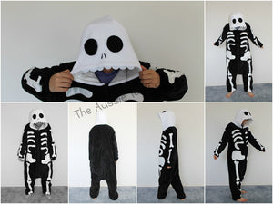 Costume - Onesie Skeleton (Adult)