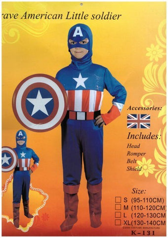 Costume - Brave American Little Soldier (Child)