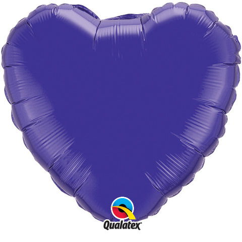 "Foil Balloon 18"" - Heart (Purple)"