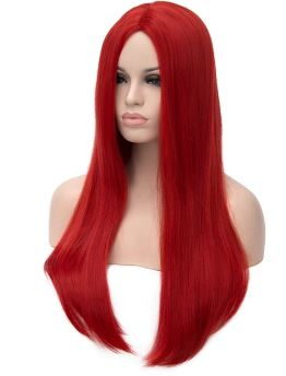Wig - 75cm Super Long (Red)