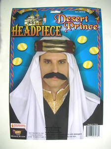 Hat - Desert Prince Headpiece (Adult)