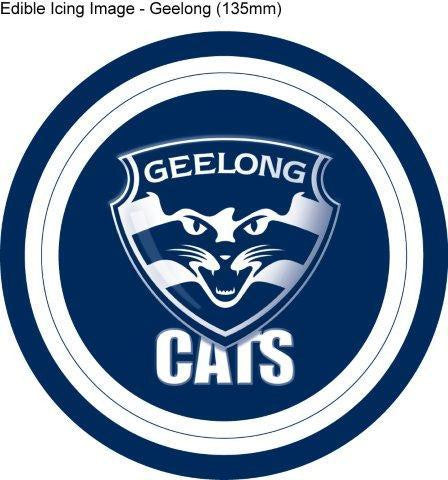 Edible Icing Image - AFL Geelong Cats