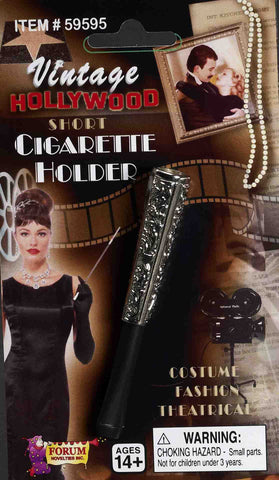 Cigarette Holder - Vintage Hollywood 20s Short Elegant