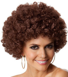 Wig - Party Afro (Brown)
