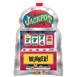 Foil Balloon Supershape - Slot Machine Jackpot