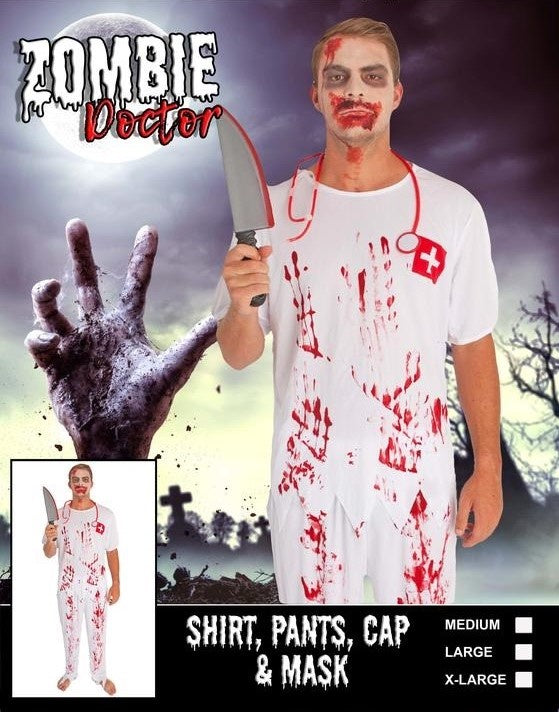 Costume - Adult Zombie Doctor