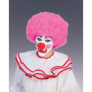 Wig - Clown Afro (Pink)